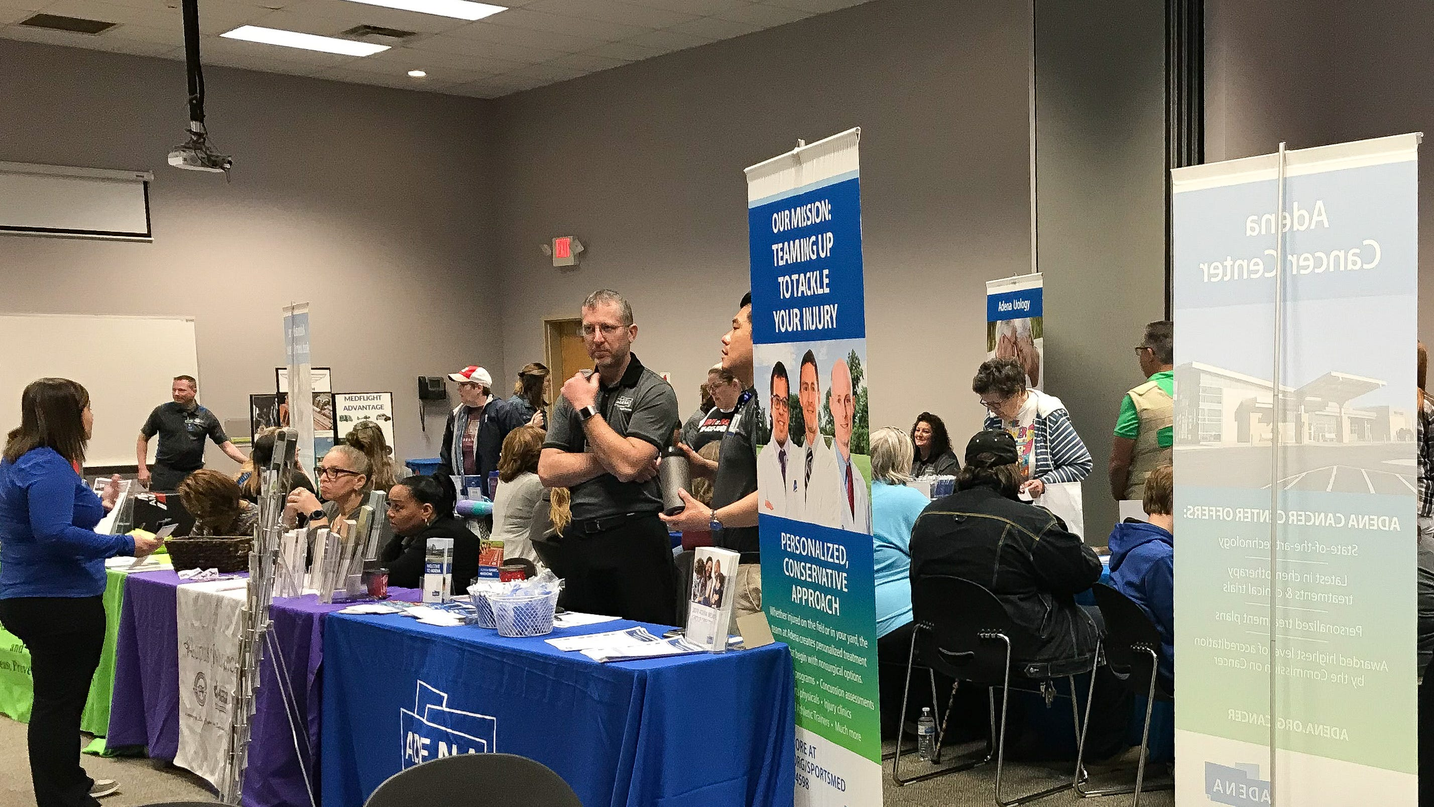 Vendors provided free education and services to community members on Saturday, March 23 at the 15th Annual Health, Safety and Fitness Expo.