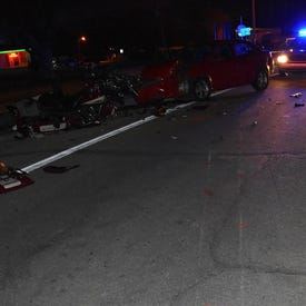 Harley-Davidson rider from Kentucky killed Friday night in head-on collision with car