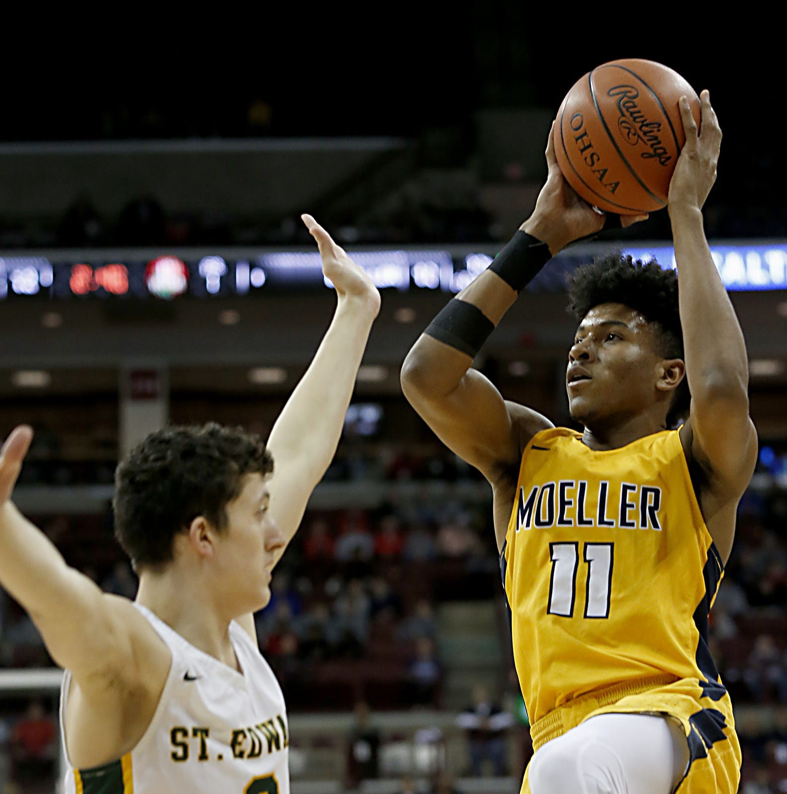 Moeller handles Lakewood St. Edward, 72-52, advances to 3rd-straight state championship