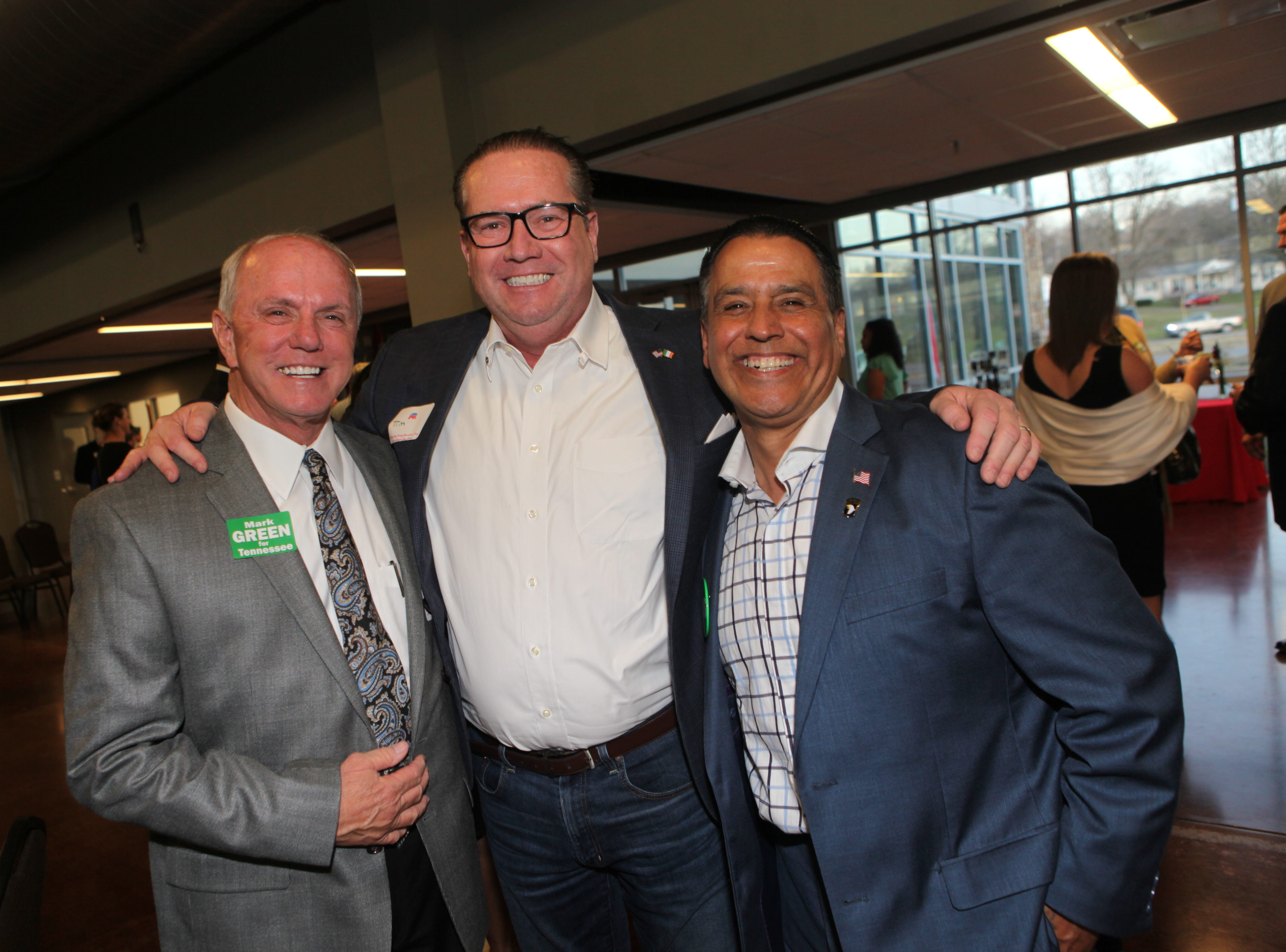 Montgomery County Republican Party held its annual Lincoln Reagan Dinner at Wilma Rudolph Event Center Friday, March 22, 2019.