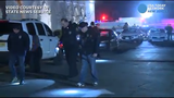 RAW VIDEO: Police search outside the Akbar restaurant in Edison early Saturday after two people were reportedly shot there.