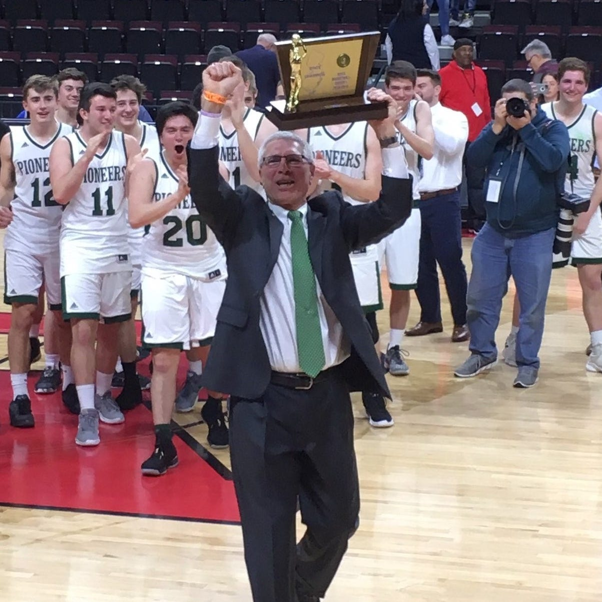 NJ Boys Basketball: New Providence's Cattano is CN Coach of the Year