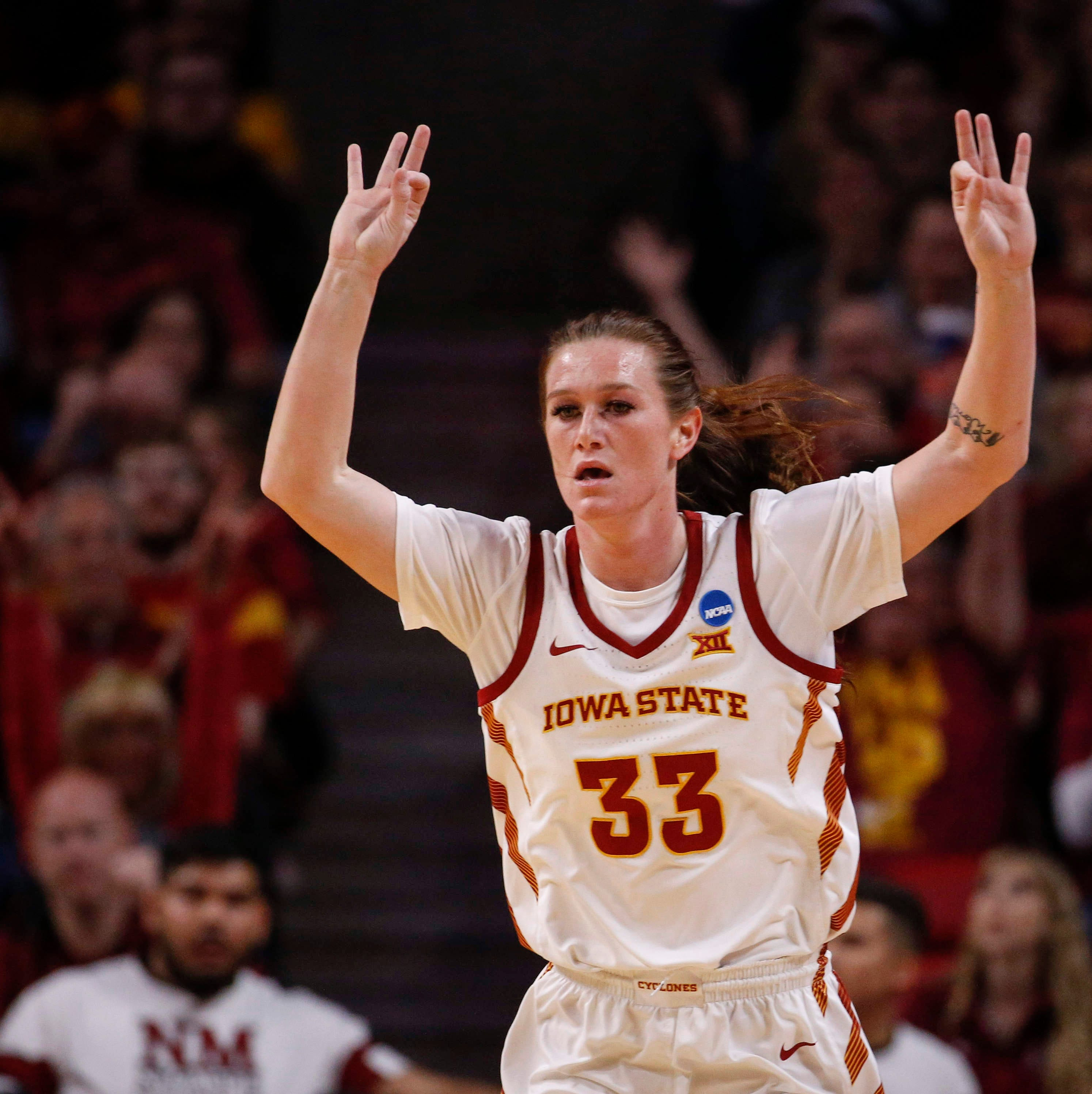 NCAA Tournament: Iowa State women cruise past New Mexico State in first round