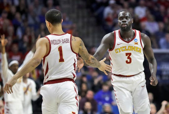 Iowa State's Marial Shayok was named an Associated Press Honorable Mention All-American