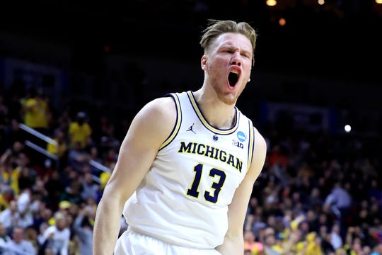 Ignas Brazdeikis was drafted by the New York Knicks in the second round of Thursday's NBA Draft.