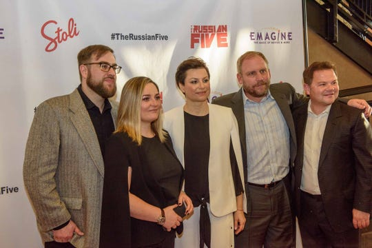 """The Russian Five"" screened at the Emagine Royal Oak on March 22, 2019. Proceeds from event went to the Vladimir Konstantinov Special Needs Trust."