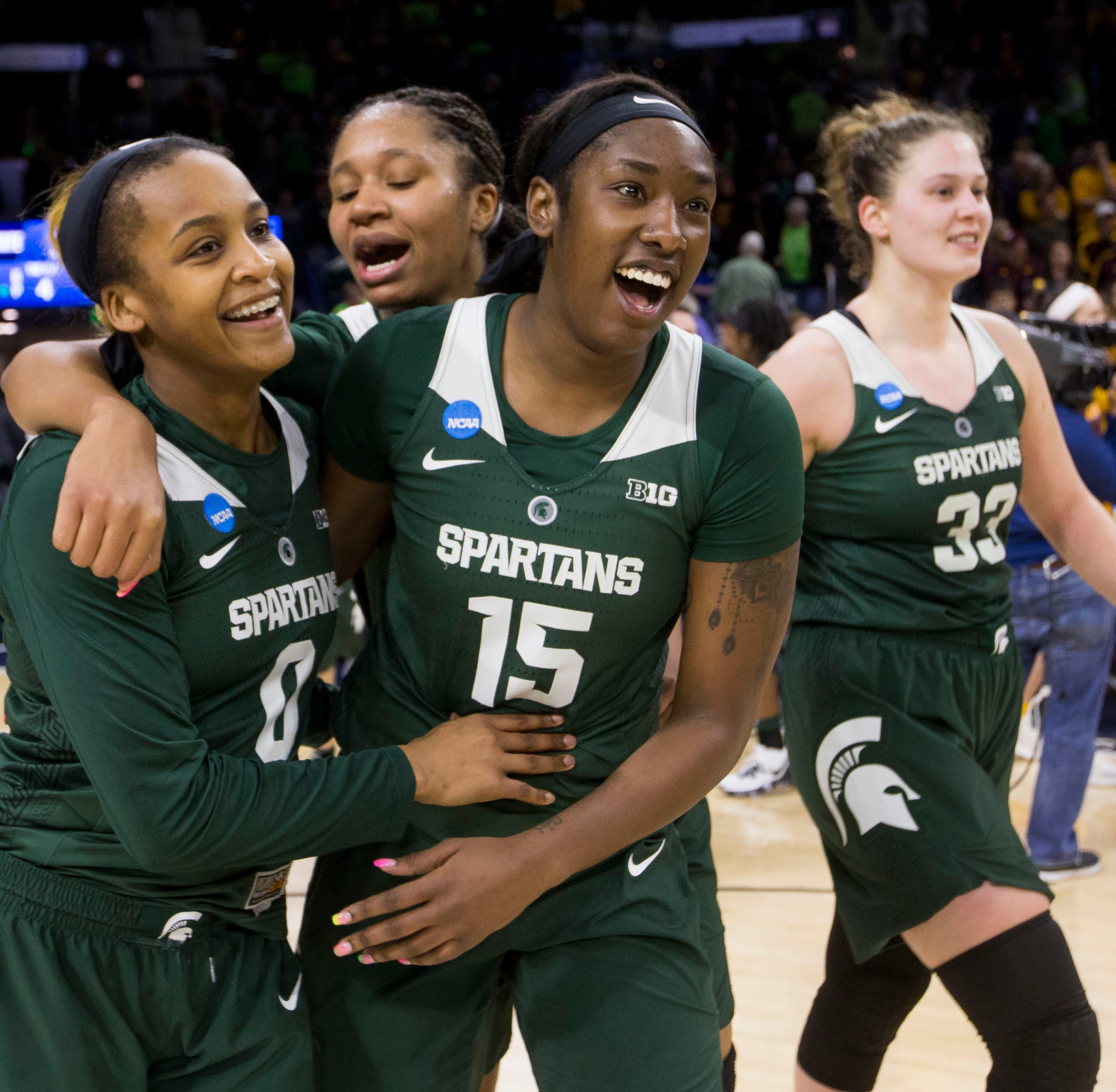 Michigan State vs. Notre Dame in women's NCAA tournament: Time, game info