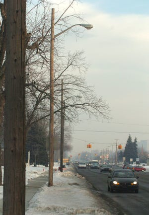 New streetlighting is one way state grants are being used to improve communities.