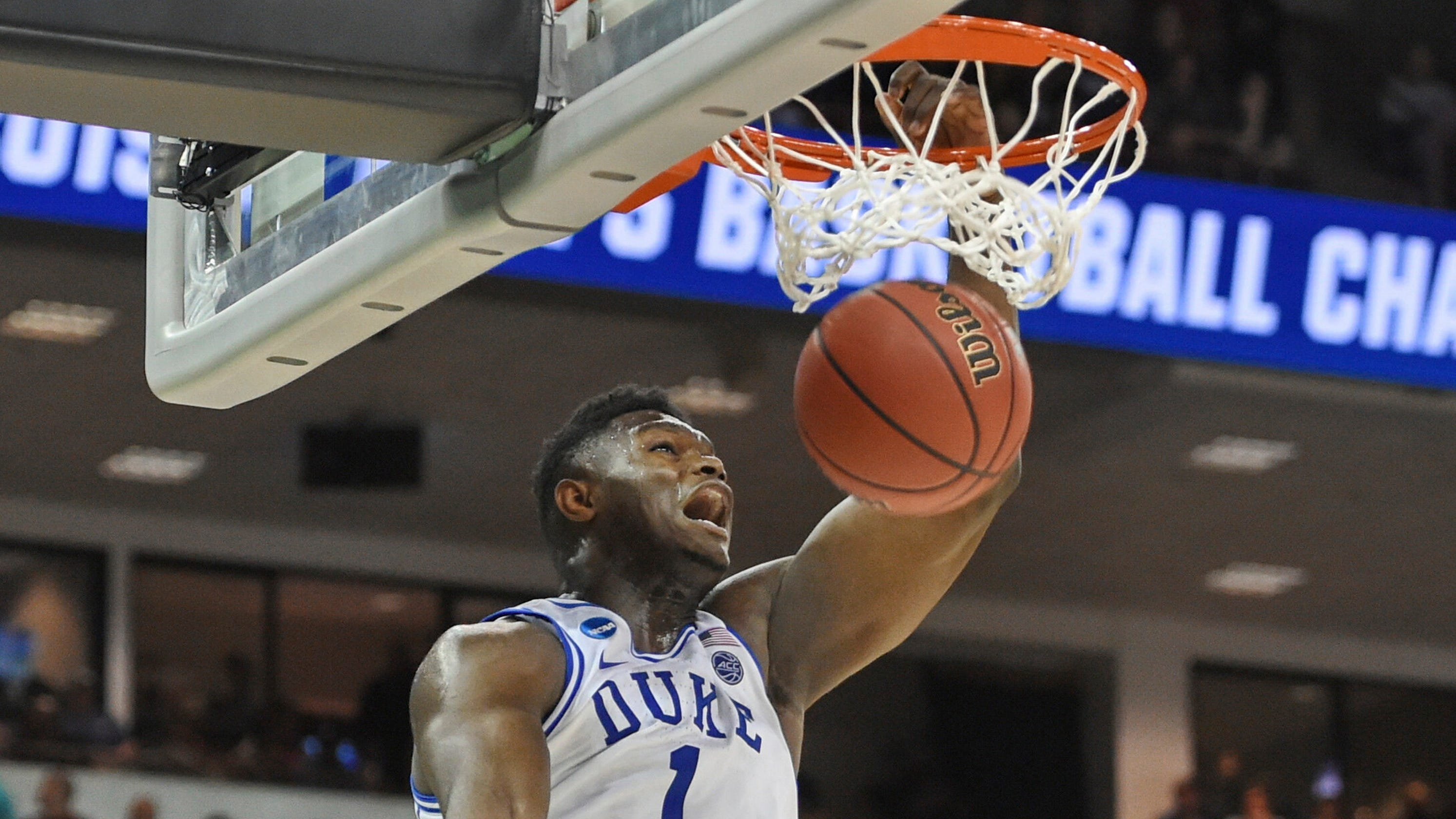 9538632ab14 Friday's NCAA Tournament: Duke's Zion Show has successful debut