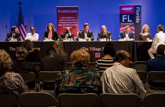 Officials from city government address challenges facing the community at the annual Tallahassee Town Hall event.