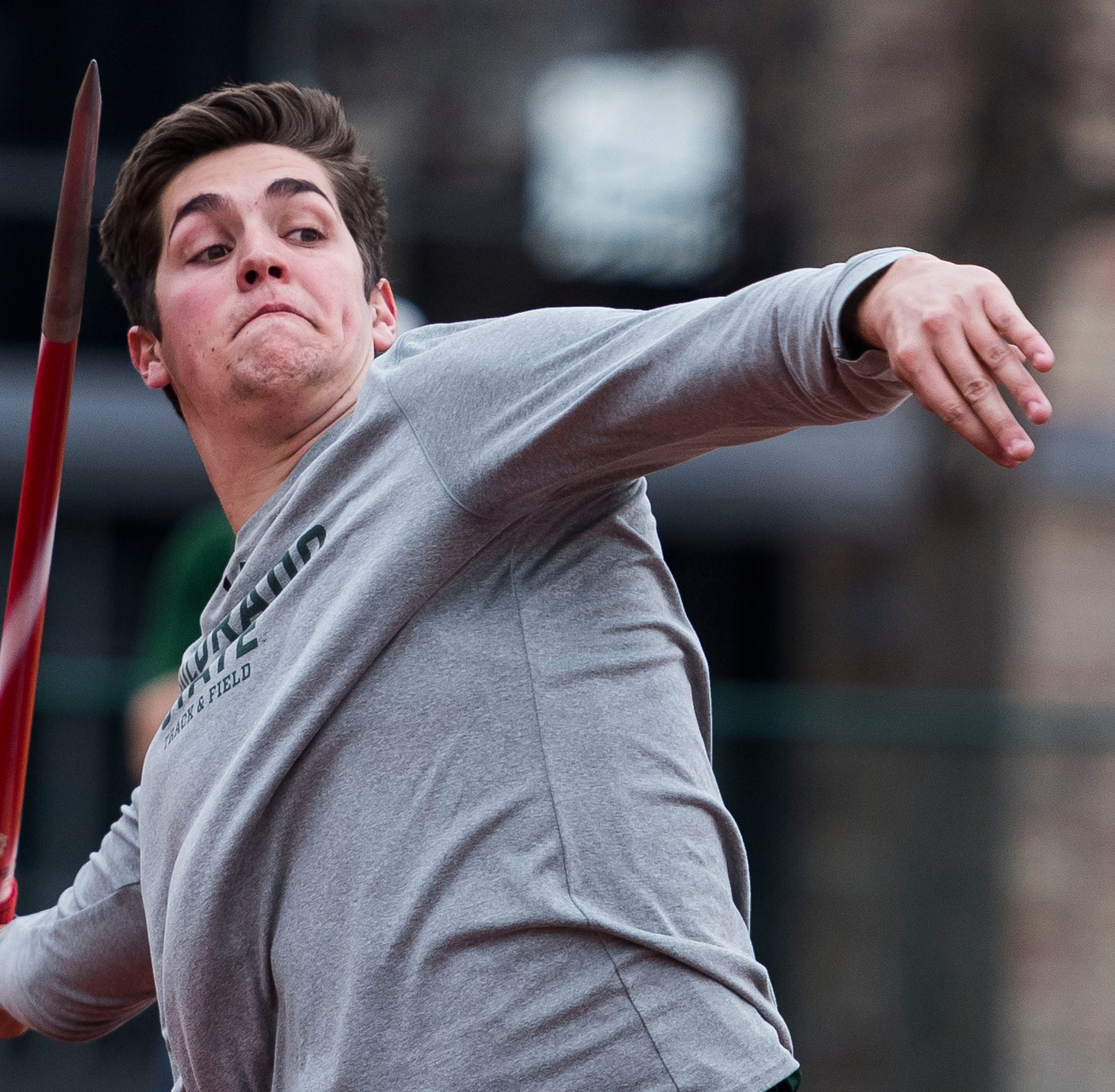 CSU throwers thrive in first meet at renovated track facility