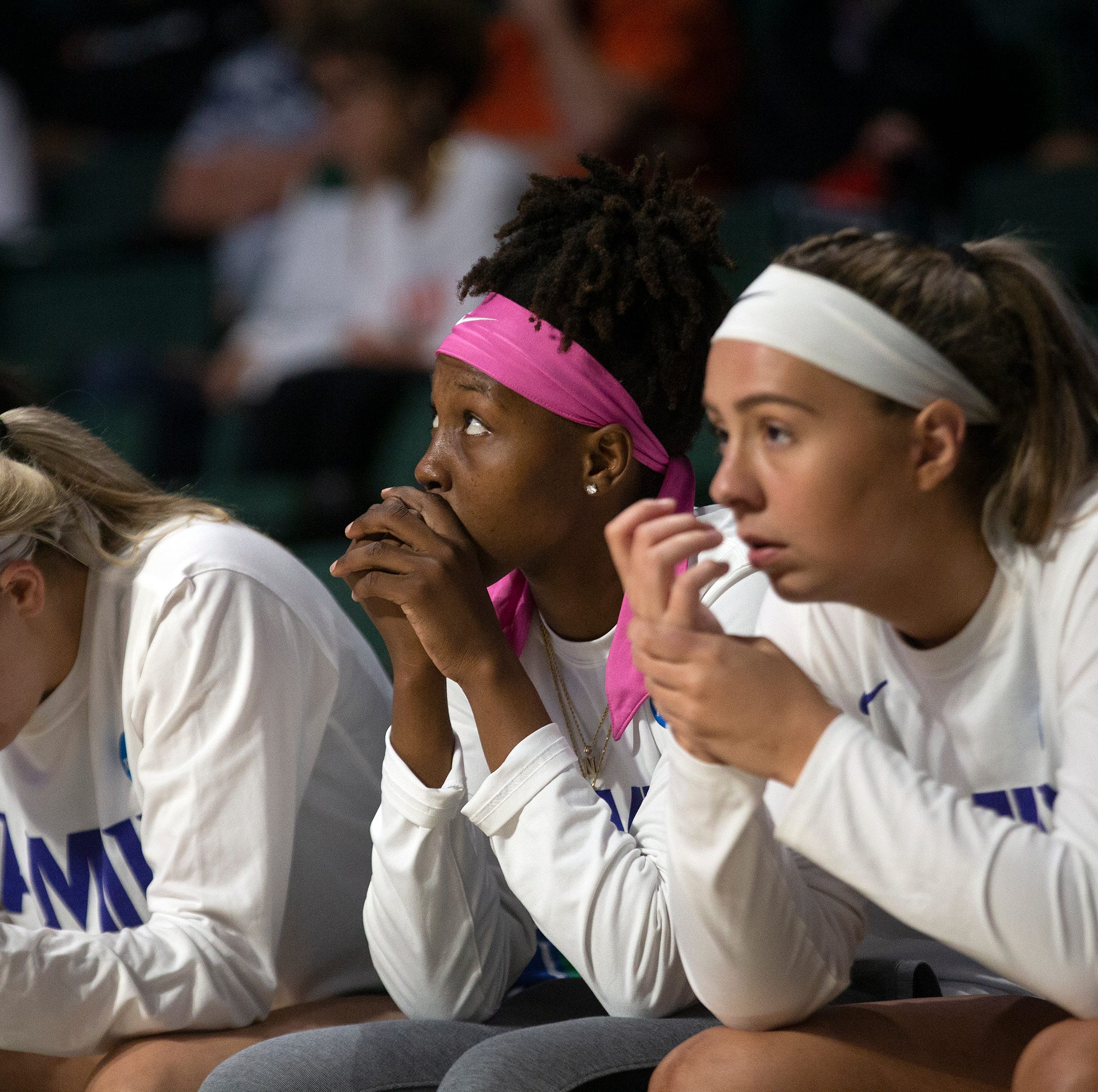 College basketball: FGCU women battle Miami again, fall by seven in NCAA tournament