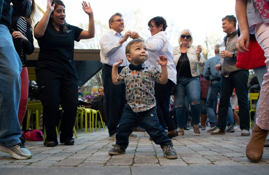 Main Street Fridays kicked off the 2019 series in NOMA Square Friday, Mar. 22, 2019.