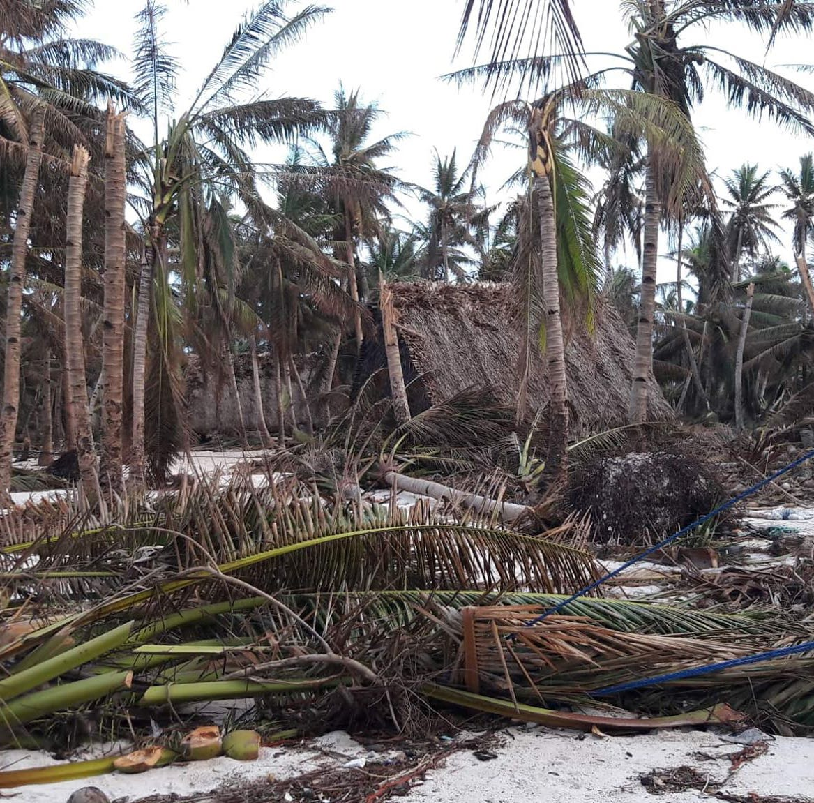 Houk, an outer island in Chuuk, still reeling after Typhoon Wutip