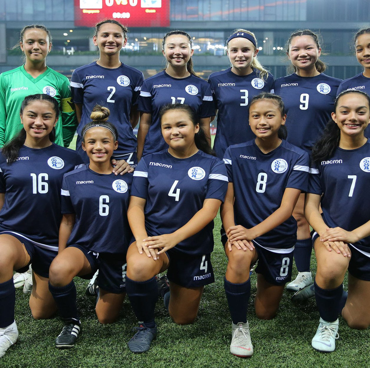 Guam earns win in Singapore youth soccer tourney