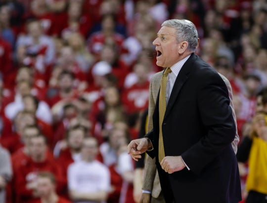 Kirk Speraw served as Iowa's interim head coach against Wisconsin, when Fran McCaffery was suspended, earlier this month.