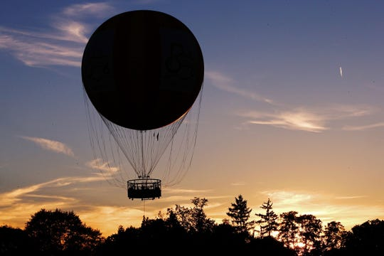 The 1859 Balloon Voyage traces the history of human flight and is open seasonally at Conner Prairie.