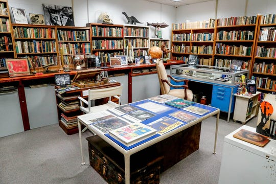 """The Center for Ray Bradbury Studies has a re-creation of the """"Fahrenheit 451"""" author's study and 30,000 pounds of priceless memorabilia from his writing, TV and film career."""