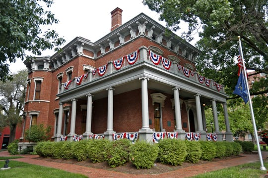 The Old Northside neighborhood was home to President Benjamin Harrison, the 23rd president.