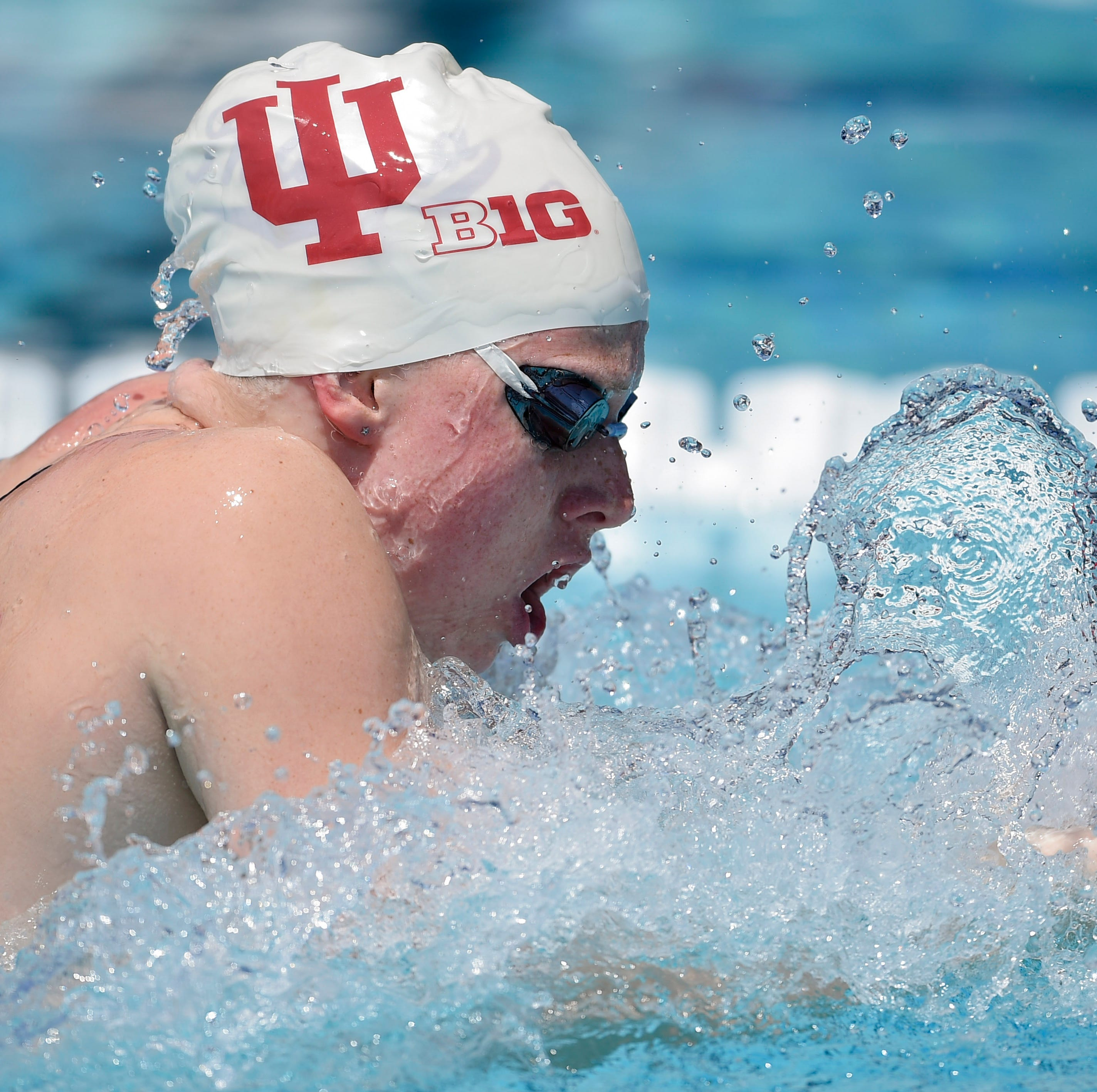 IU's Lilly King breaks own American record, finishes 4-year sweep with another NCAA title