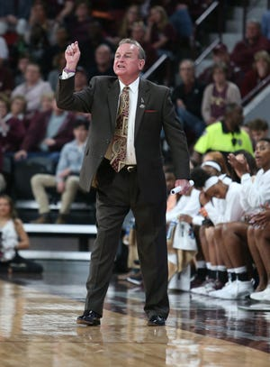 Coach Vic Schaefer and the Mississippi State women's basketball team have developed a rivalry with South Carolina.