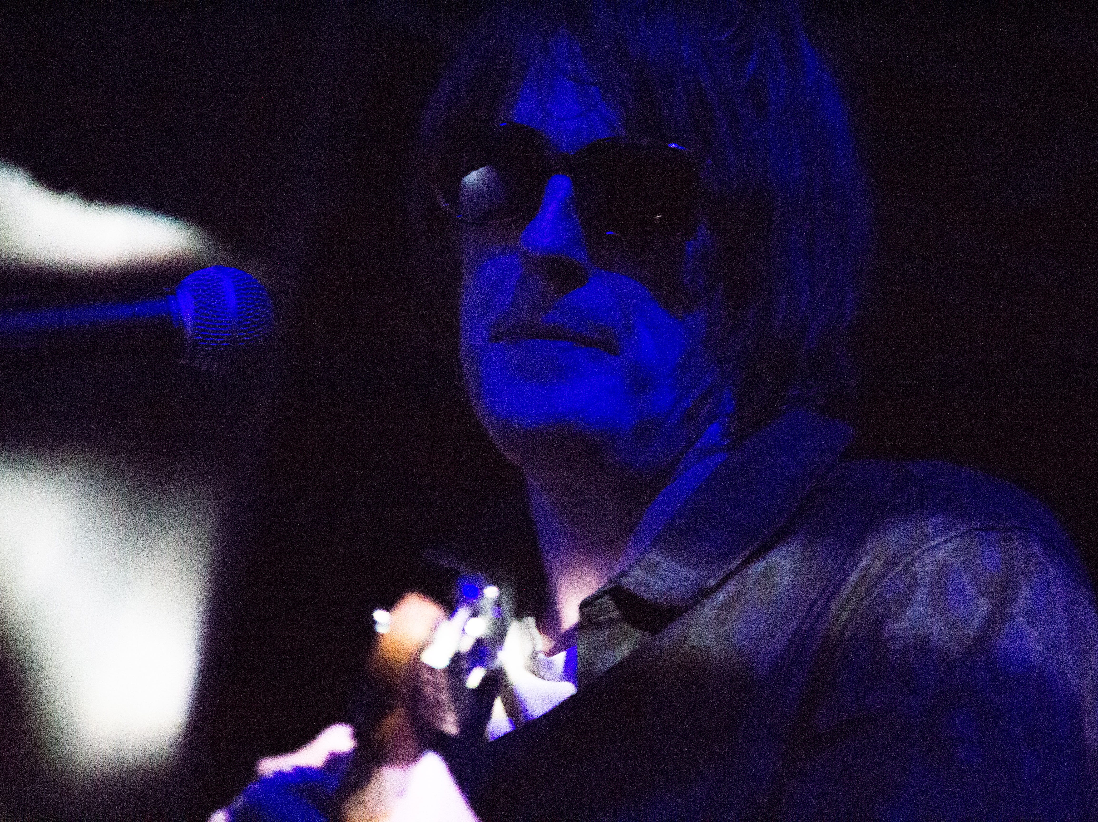 Spiritualized performs at the Mill & Mine during Big Ears Festival 2019 in Knoxville, Tennessee on Friday, March 22, 2019.
