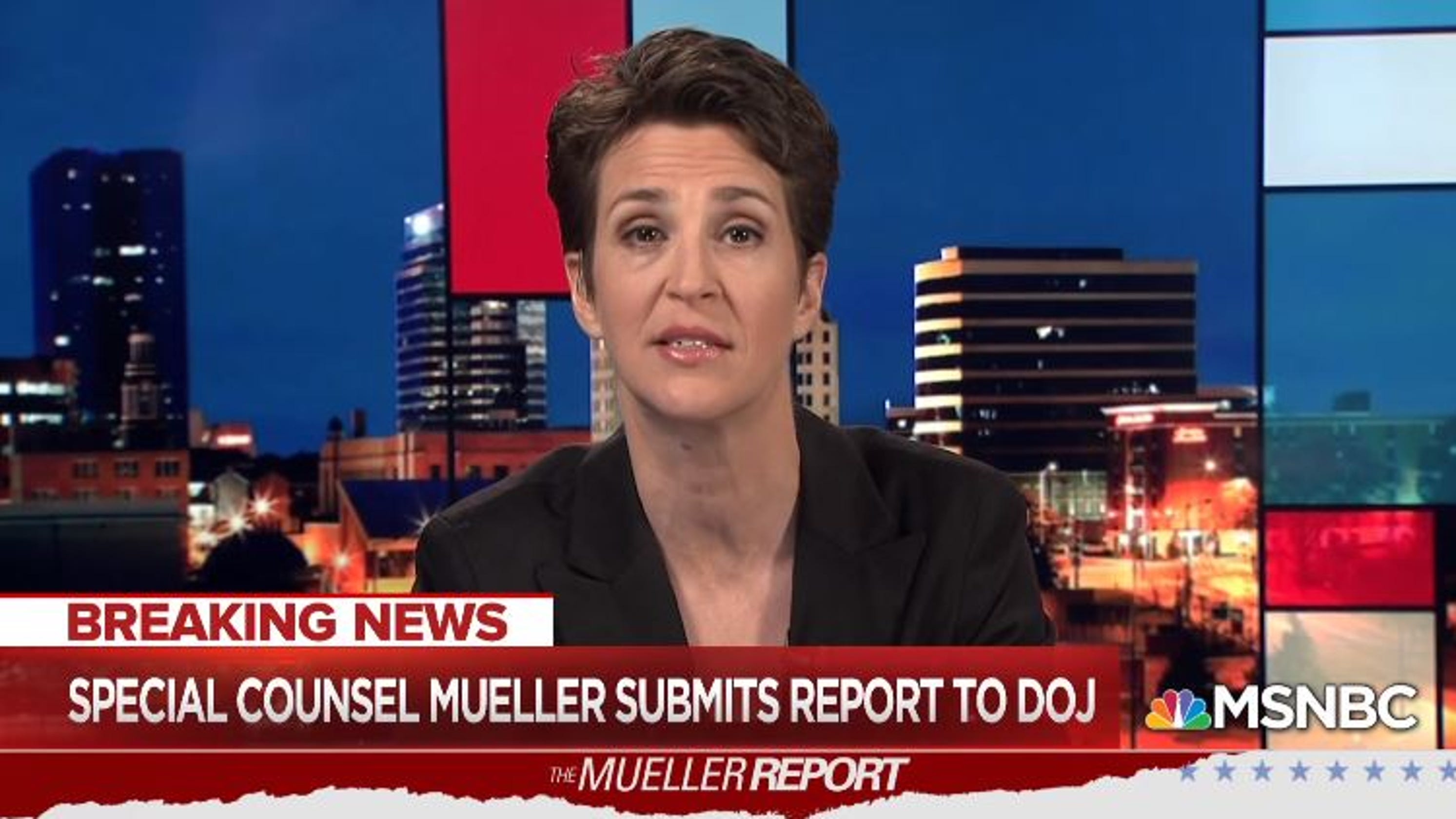 Image result for rachel maddow tears mueller report