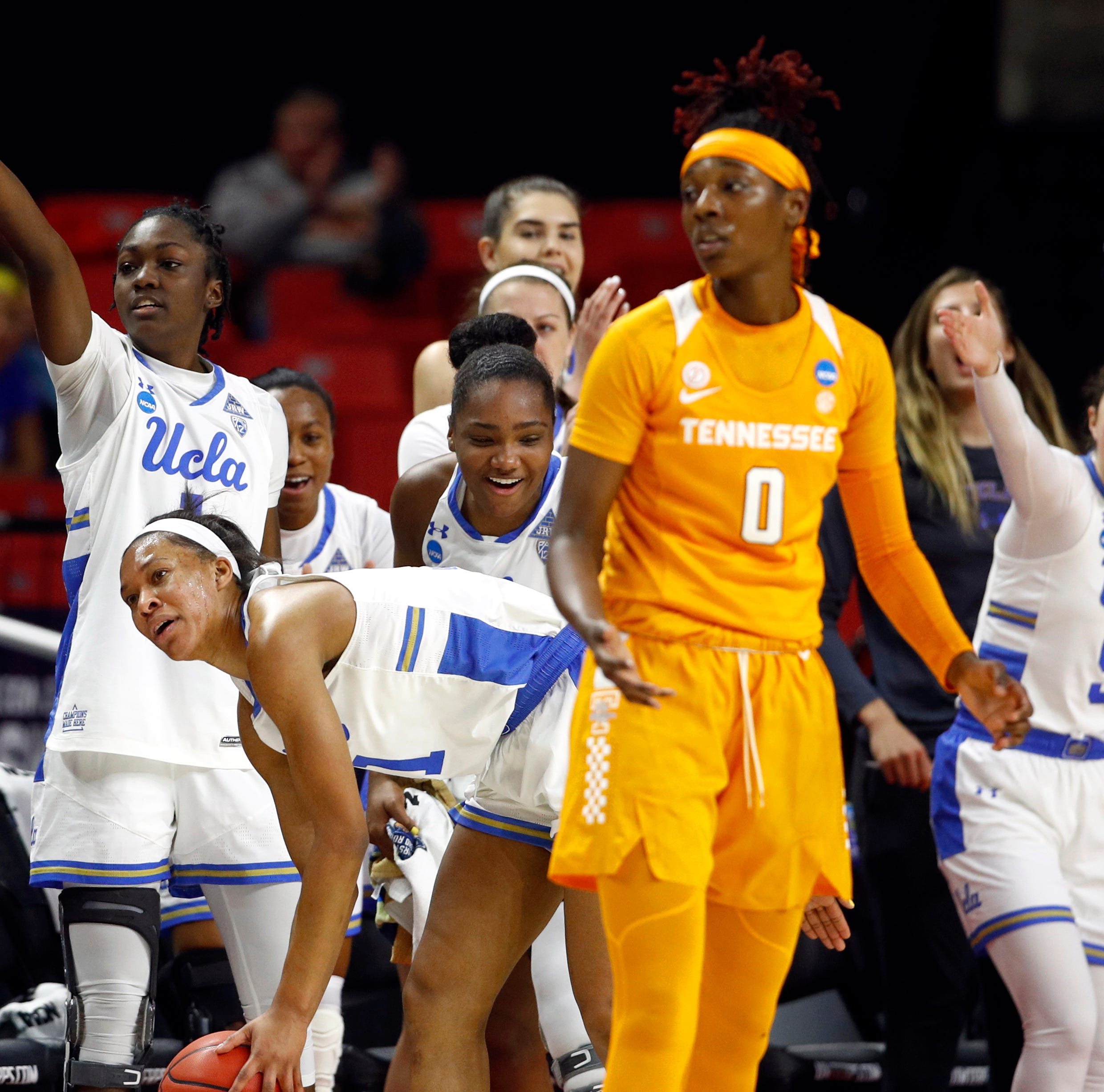 Lady Vols eliminated by UCLA in NCAA Tournament first round