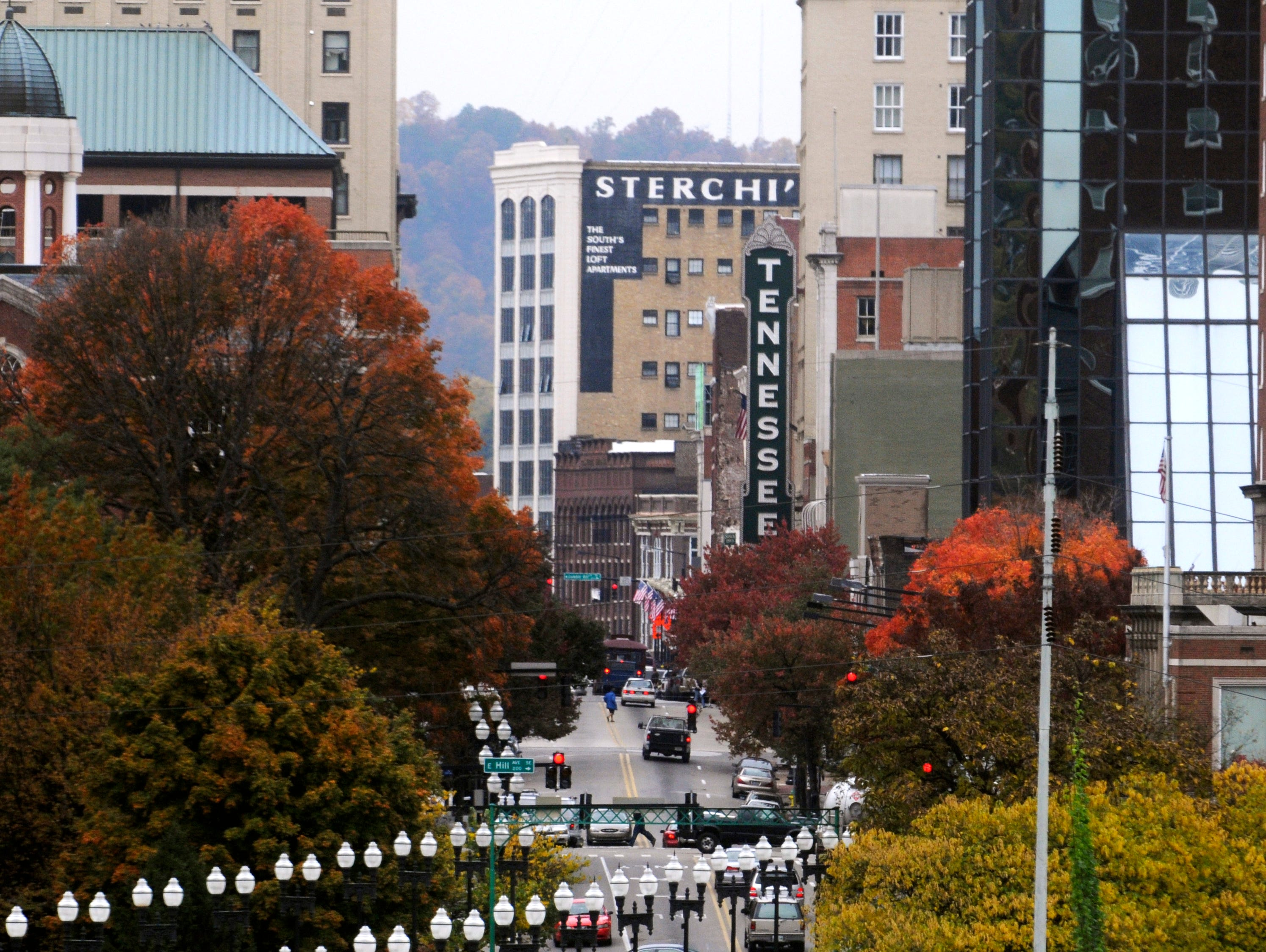 Downtown Knoxville as seen in 2009.