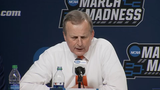 Tennessee head coach Rick Barnes talks about the Vols win over Colgate in the first round of the NCAA tournament Friday, March 22.