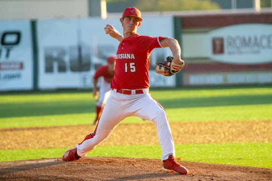 UL's Jacob Schultz had a strong outing but a tough outcome in Friday's 6-5 loss to Appalachian State.