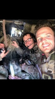 Lancaster native Joseph Peter Collette (right) was killed this week while serving with the Army in Afghanistan.