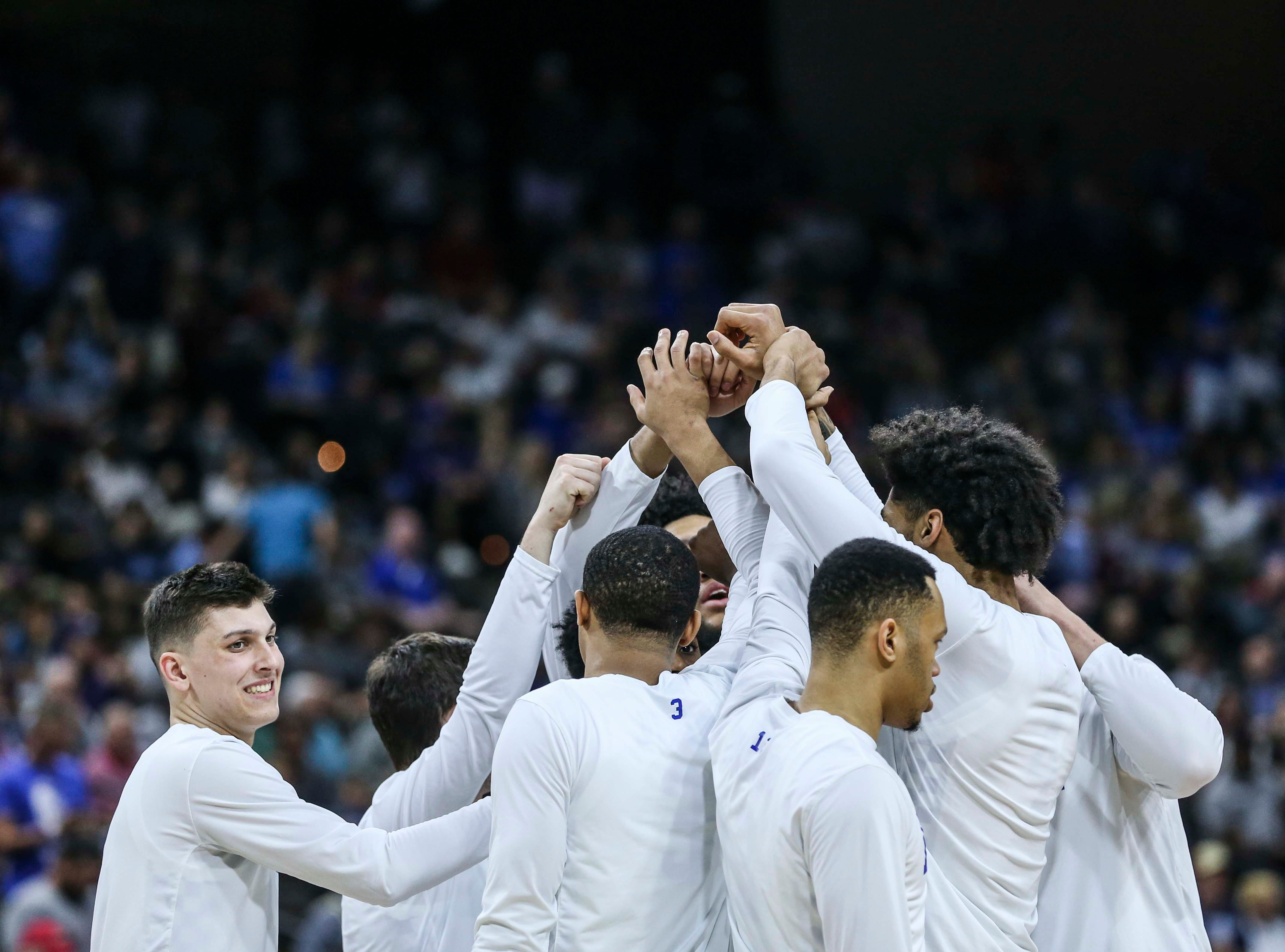 Scenes from Jacksonville: The Wildcats muscled its way past a tenacious Wofford 62-56 in the second round game of the 2019 NCAA tournament in Jacksonville, Fla. March 23, 2019