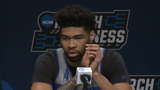 Kentucky's Nick Richards on Wofford's bigs: 'We're just better than them overall, I think. The advantage is all our way.'