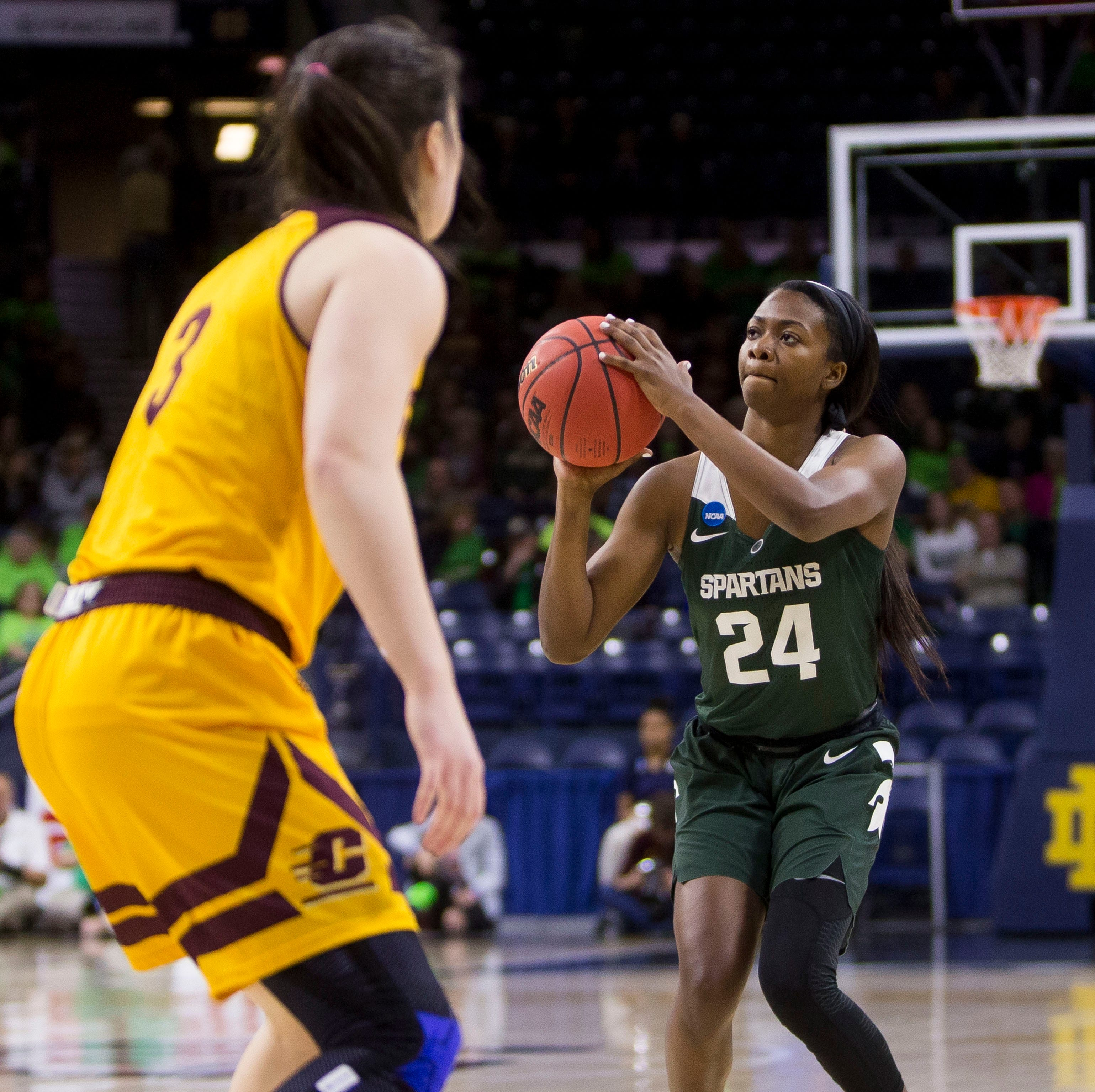 Shay Colley's late basket lifts Michigan State women's basketball past Central Michigan