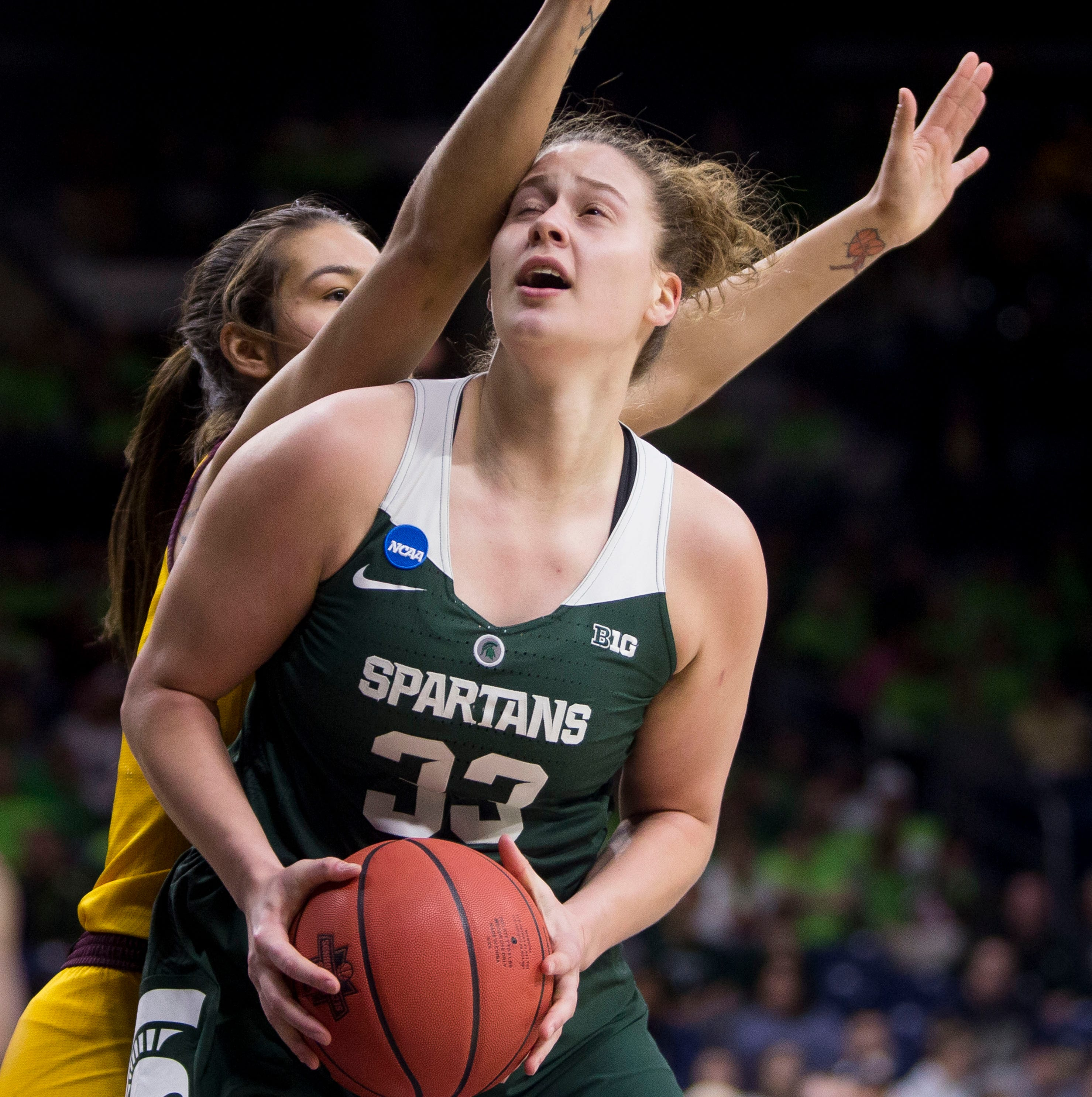 Top-seeded Notre Dame stands in way as MSU women's basketball tries to reach Sweet 16