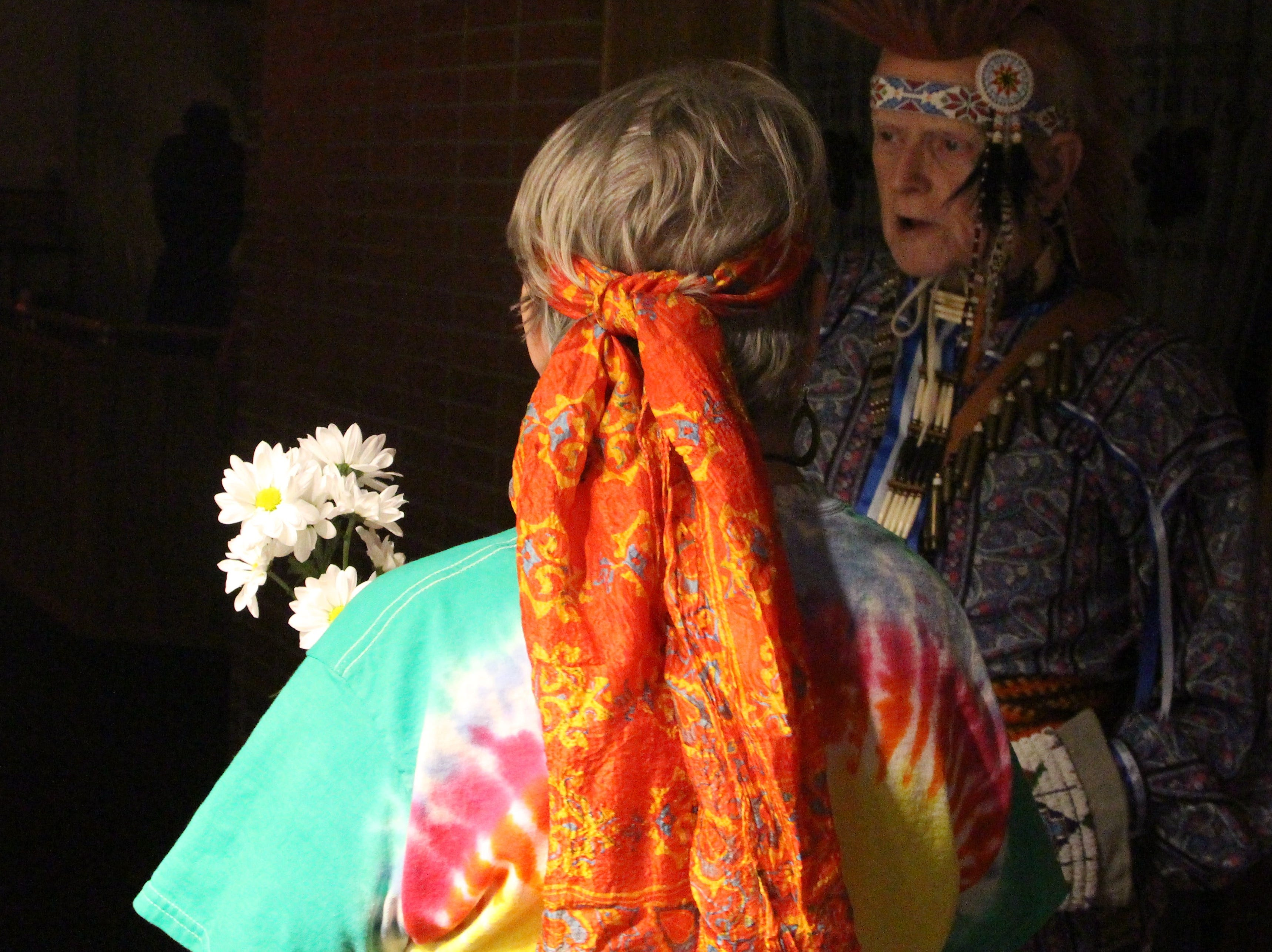 """Volunteers dressed as residents of Marion's past roamed the halls during the 13th annual """"A Night at Heritage Hall"""" on Friday and Saturday."""