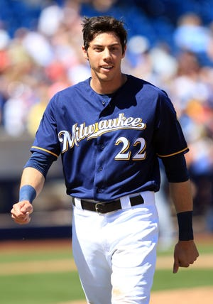 Christian Yelich will spend the majority of his remaining career in Milwaukee.