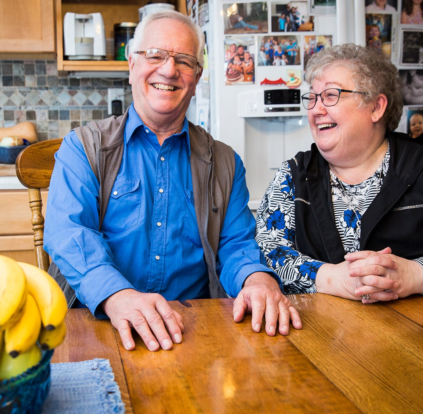 Local couple ready to start 'new chapter' together after colon cancer scare