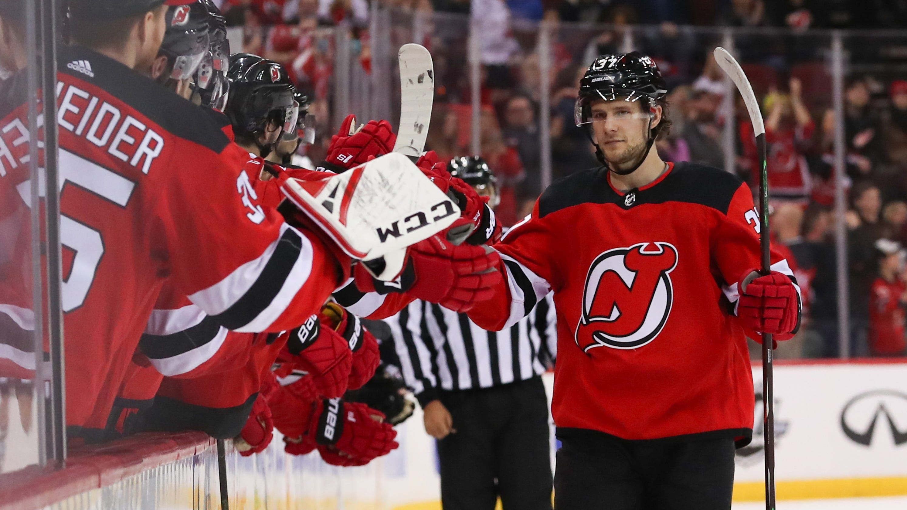 1721e4c9f Pavel Zacha s shootout goal gives NJ Devils 2-1 win over Coyotes