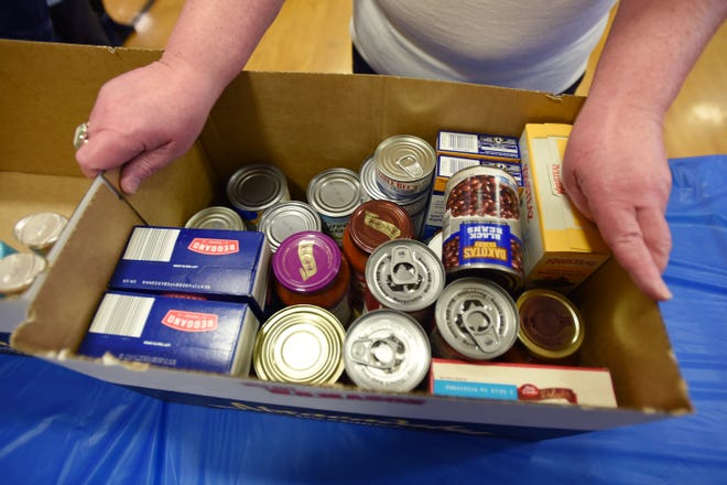 Staunton, Augusta County and Waynesboro public libraries are erasing overdue fines in exchange for food donations from Nov. 24 to Jan. 4.