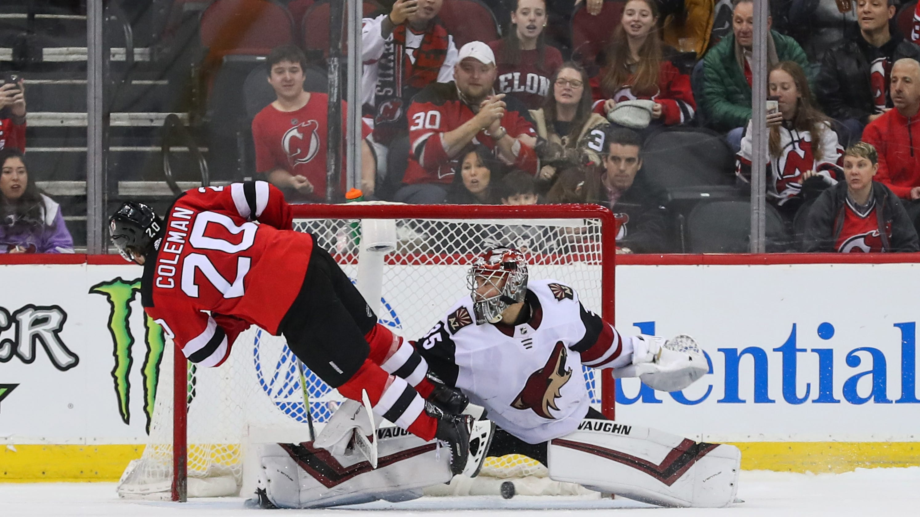 outlet store 789c2 b6be7 Takeaways: Devils' Blake Coleman wants puck on his stick on ...