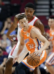 Jimmer Fredette scored 41 points in a preseason game against Houston before the 2018-19 season.