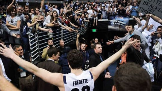 "Jimmer Fredette was a sensation in college with the ""Jimmermania"" craze."