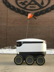 A new robotic food-delivery service is starting on the Flagstaff campus of Northern Arizona University.