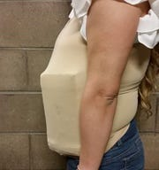 Woman conceals cocaine on stomach at Port of Nogales entry as she attempts to enter the U.S.