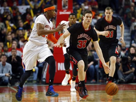 Jimmer Fredette played for four NBA teams including the Chicago Bulls.