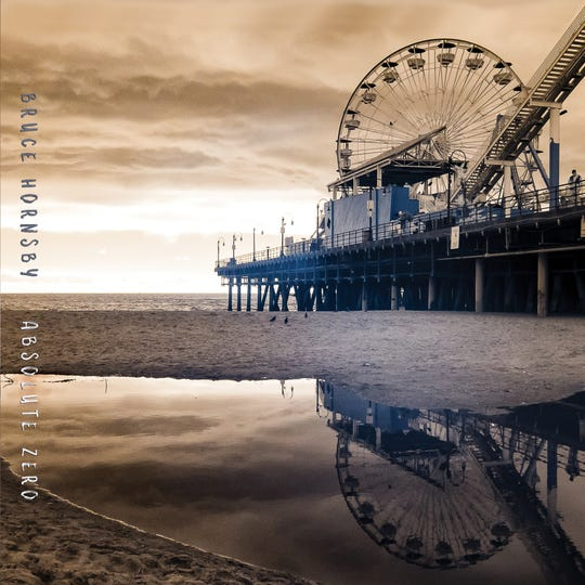 """The cover for Bruce Hornsby's new album, """"Absolute Zero."""""""