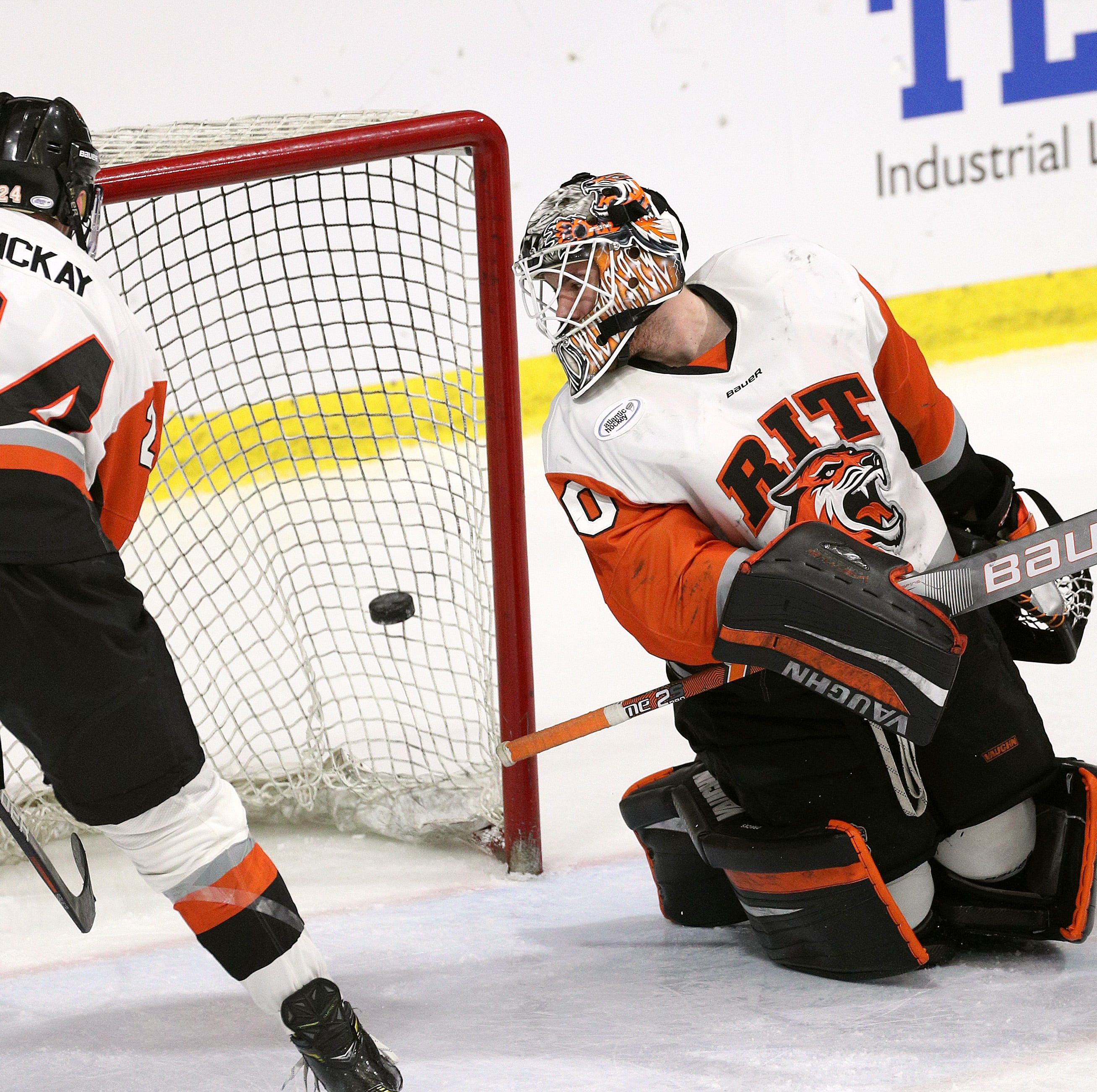 RIT drops 1-0 overtime heartbreaker to Niagara in Atlantic Hockey semifinals
