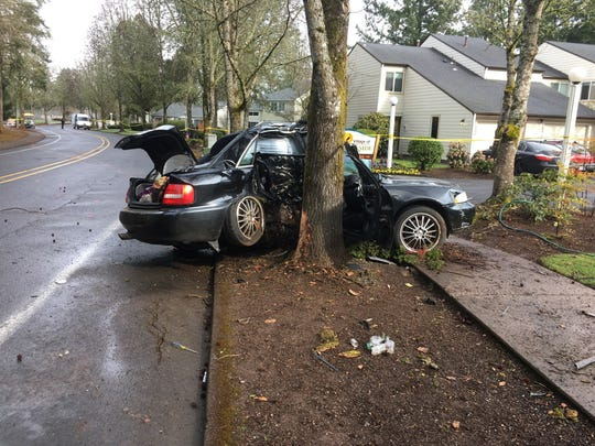 One teen died and four others were injured in an early morning crash in  South Salem on Saturday, March 23 2019